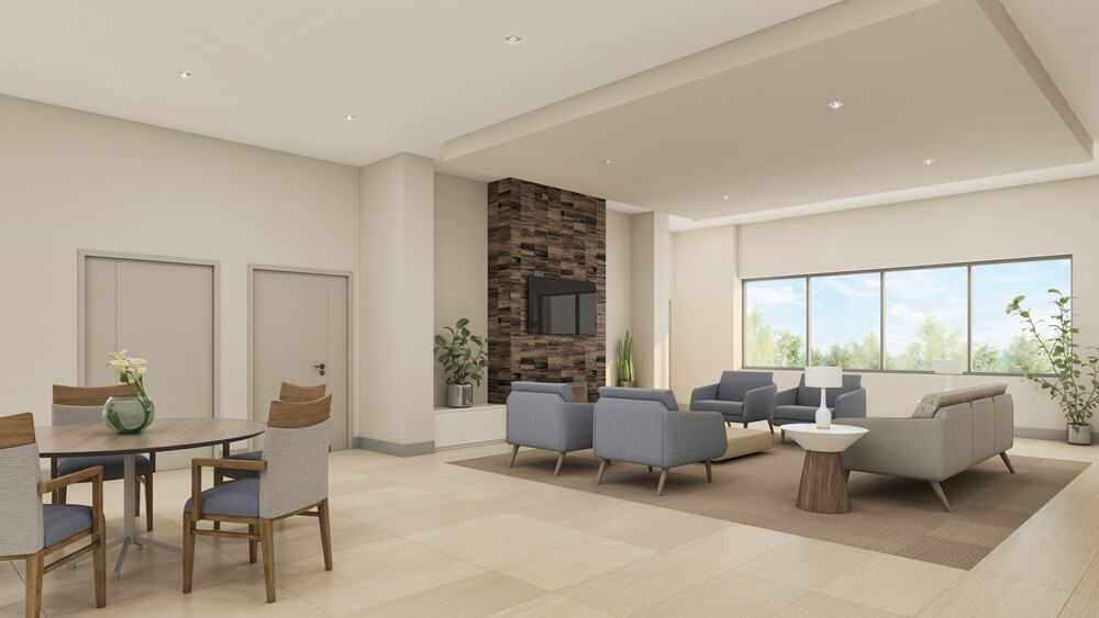 Skilled Nursing - Living Room